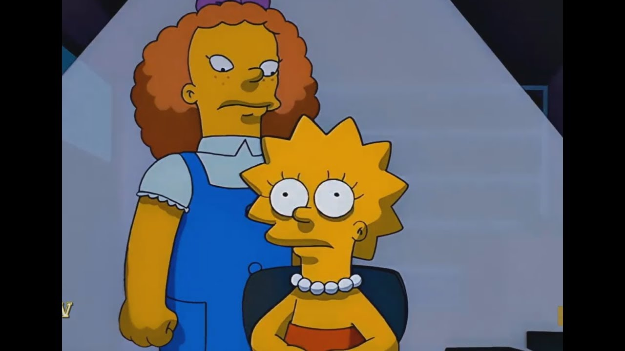 Download THE SIMPSONS - Lisa And The Giant Friend Obsession !