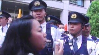 国の暴力を許さない!! レジスタンス大行動・集会前の弾圧編 西中誠一郎 検索動画 19