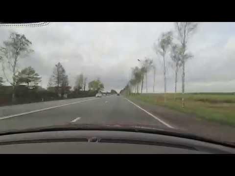 Road timelapse Moscow-SaintsPetersburg