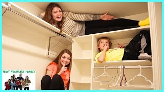 Sardines Hide And Seek - Audrey Is A Sneaky Hider That YouTub3 Family I Family Channel