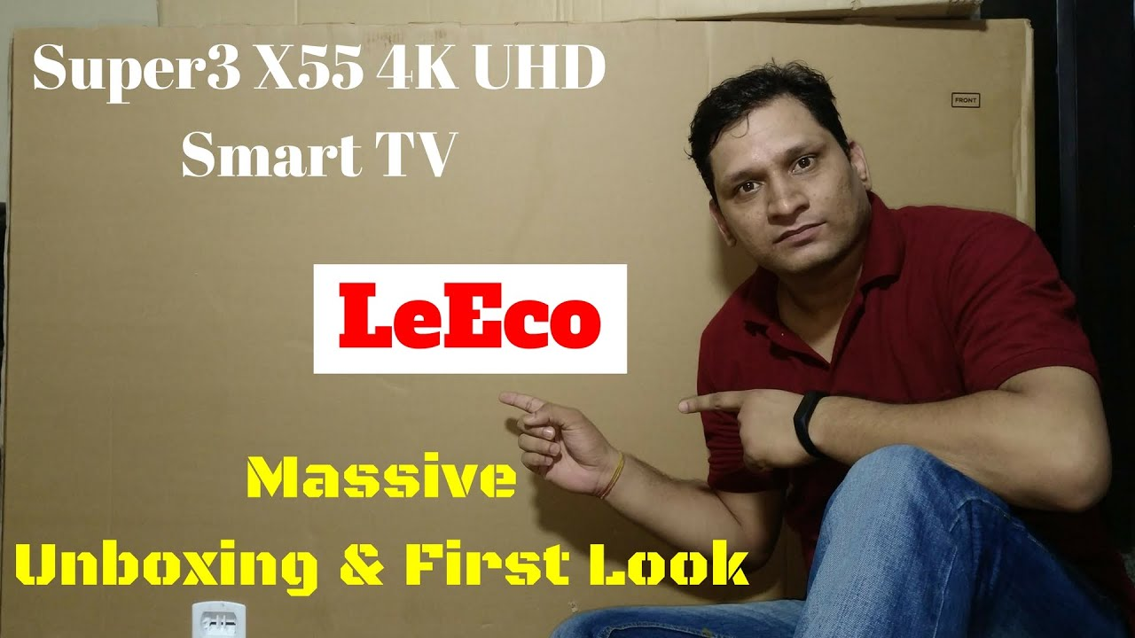 Mar 9, 2017. Leeco super 4 is the next generation television in the super series tvs of the chinese company. Here is the unboxing and first impression of the leeco super.