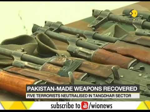 J&K infiltration bid foiled, five terrorists killed