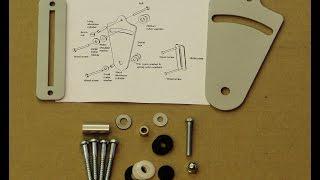 Installation instructions & parts for RLP barn door privacy lock kit.