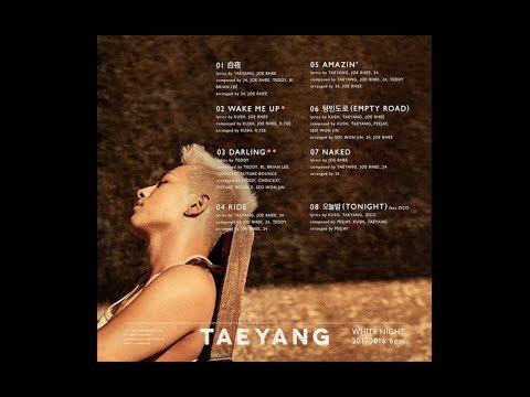 TAEYANG - 'WHITE NIGHT' TRACKLIST