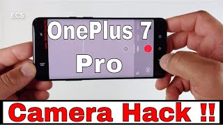 Oneplus 7 Pro Wide Angle Camera HACK !! | Easy Fix | NO ROOT NEEDED !!