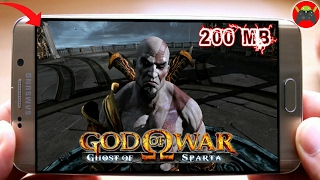 GOD OF WAR GHOST OF SPARTA LITE 200 MB PARA ANDROID   DOWNLOAD PARA QUALQUER CELULAR [PPSSPP/HD]