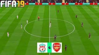 Liverpool vs Arsenal - Premier League 2019 Season Gameplay | FIFA 19