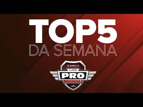 TOP5 DA SEMANA - Liga PRO Alienware Gamers Club ABR/17 (Semana 2)