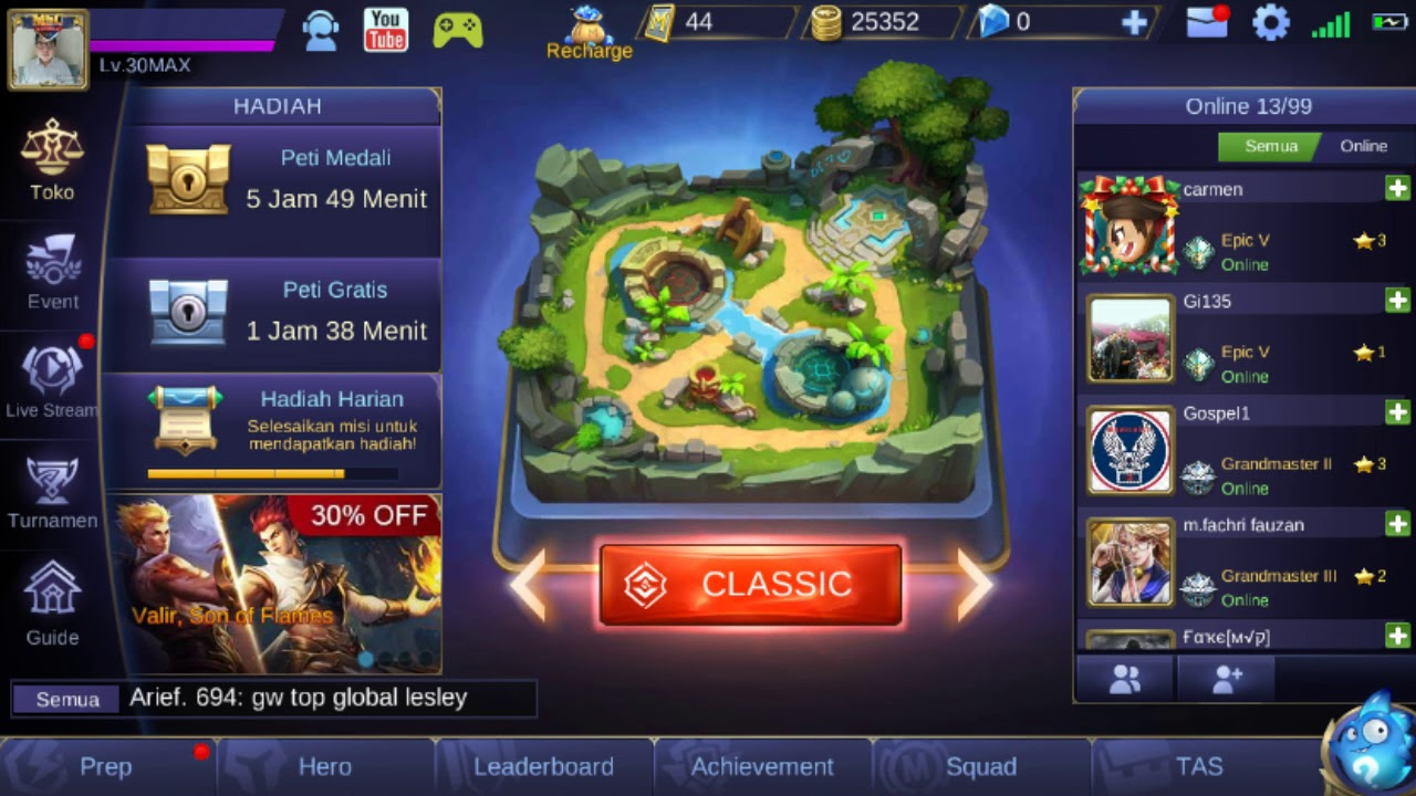 kumpulan hero ml: background hero mobile legend kosong