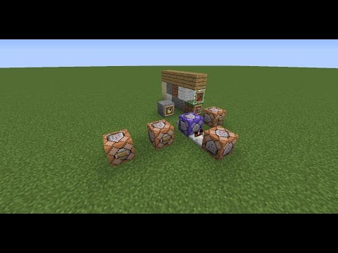 Minecraft Command Block: How To:place, Destroy, Face Direction, Hold Item
