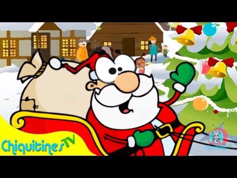 Santa Claus llegó a la ciudad - Canción Infantil - Villancico Navideño