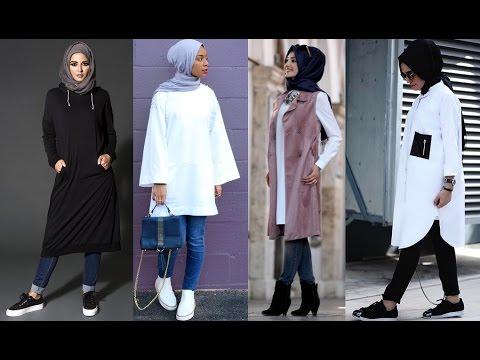 48d9c81b6c591  موضة ملابس محجبات أجمل ازياء المحجبات 💓💓 تنسيق ملابس المحجبات - YouTube