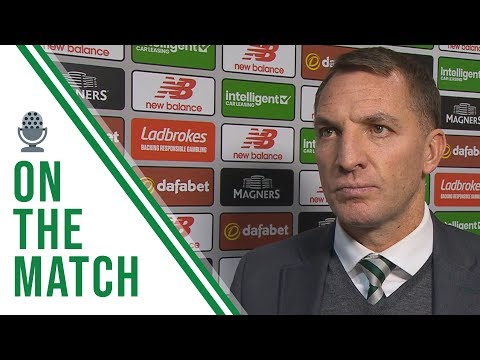 🎙️ Brendan Rodgers on the match | Celtic 4-1 Motherwell