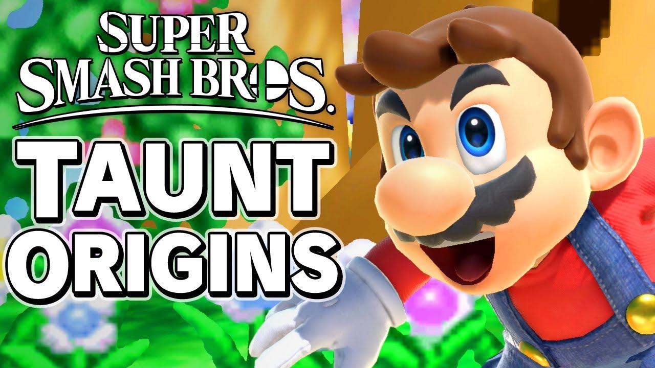 Super Smash Bros. Taunt Origins - 64 Fighters – Aaronitmar thumbnail
