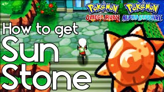 How to Get Sun Stone – Pokemon Omega Ruby and Alpha Sapphire – Pokemon ORAS How to