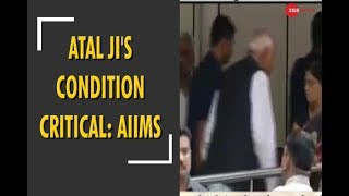 AIIMS medical bulletin released: Atalji's condition still critical