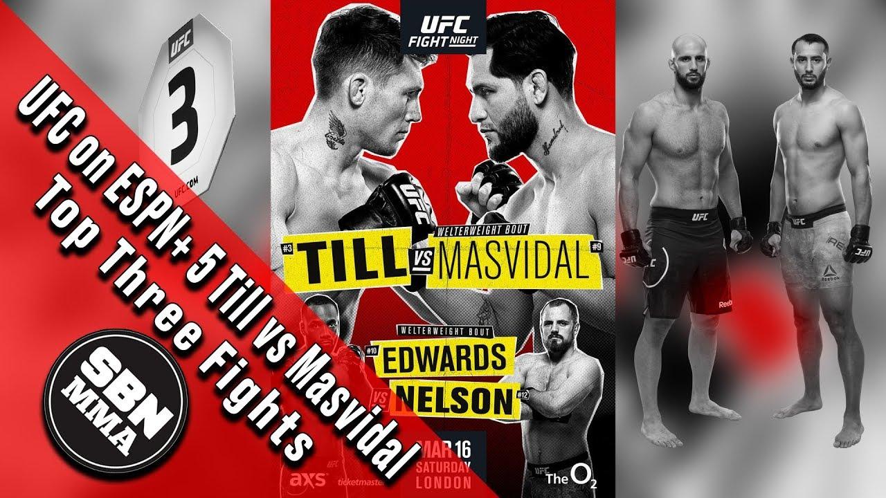 UFC Fight Night 147: 'Till vs ...