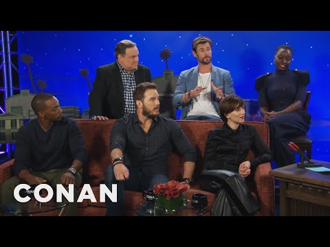 How The 'Avengers' Cast Would Catch Up Someone Who's Been In A Coma  - CONAN on TBS