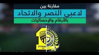 #دوري_بلس - بالأرقام مقارنه بين لاعبي الاتحاد والنصر