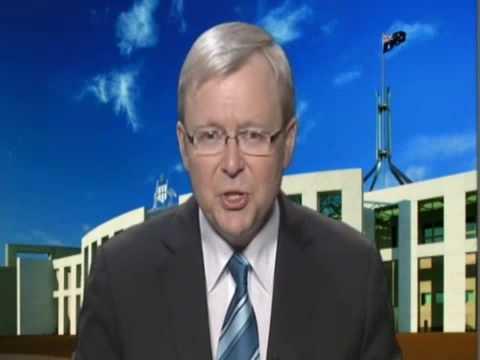 Kevin Rudd Praises Gordon Brown's Global Leadership