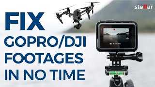 How to Fix Corrupt or Broken GoPro/DJI Video Footage?