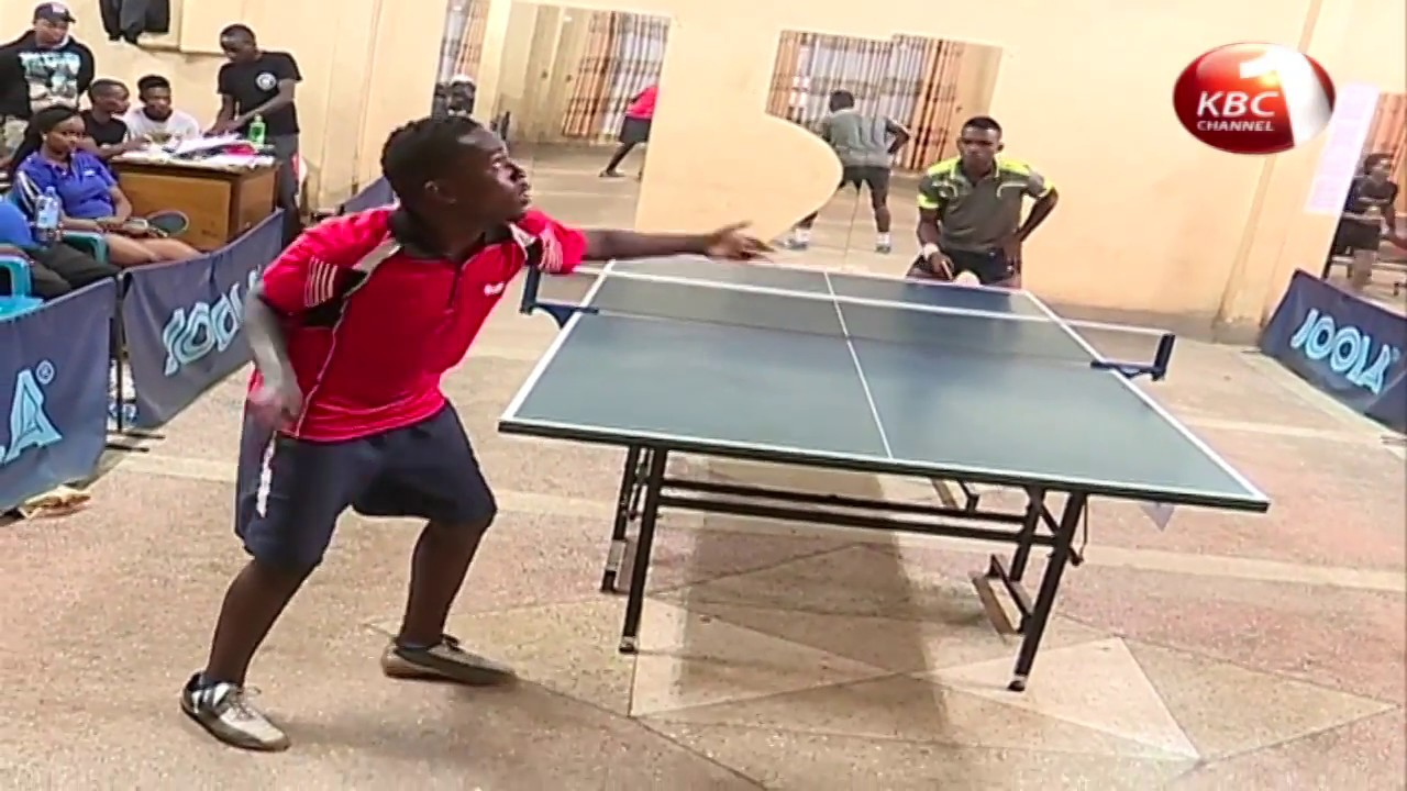 Kenya's top seed Brian Mutua baggs City table tennis open challenge title