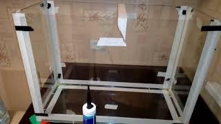 Склеивание аквариума в домашних условиях с помощью подручных средств