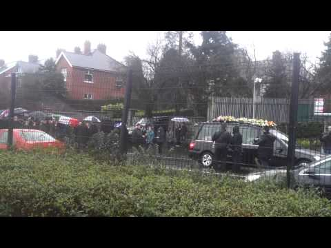 The funeral of Irish republican martyr Dolours Price