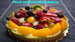Manju Birthday    Cakes