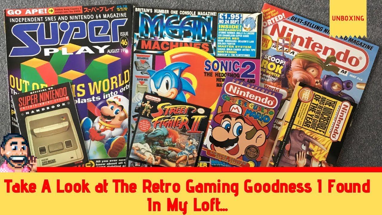 Retro Gaming Loft Goodies