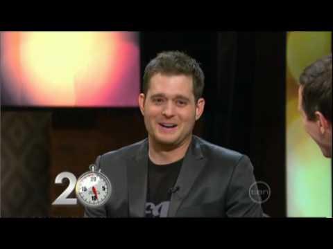 Michael Buble Interview On ROVE (Australia) 2008