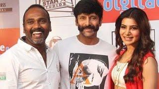 Samantha is a 'style icon': Vikram at 10 Enradhukulla Trailer Launch | Vijay Milton Speech