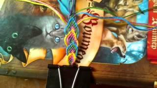Урок #2 плетение фенечек:)
