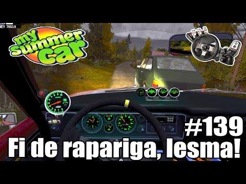 My Summer Car - SAI DO MEIO MIZERA #139 ‹ Getaway Driver ›