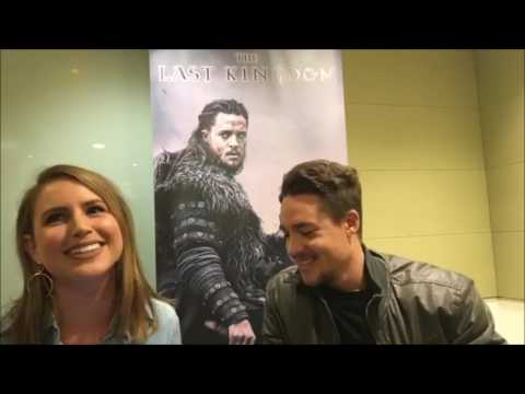Alexander Dreymon  Funny & Flirty Australian   The Last Kingdom  02 May 2017