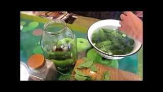 Как приготовить малосольные огурцы