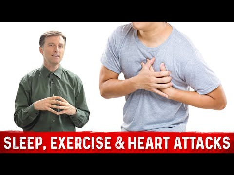 Sleep, Exercise & Heart Attacks!
