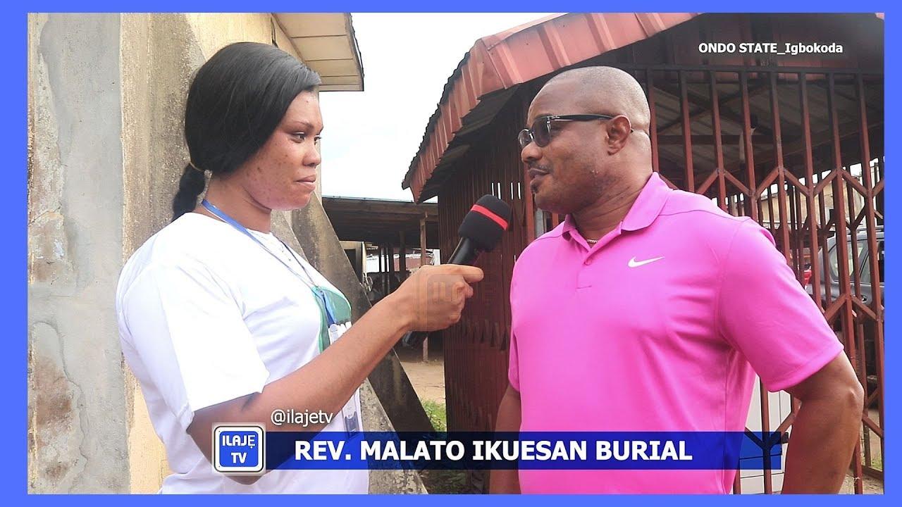 Download Ilaje TV - Rev. Malato Ikuesan Burial Service at Igbokoda Ondo State Nigeria. PART 1