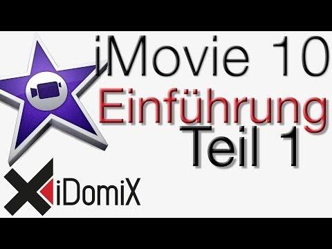 iMovie 10 Einführung Video Tutorial Handbuch