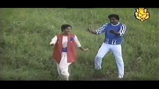 Santhasa Araluva Samaya | Kannada Song | Elu Sutthina Kote Kannada Movie | Ambarish | Gowthami