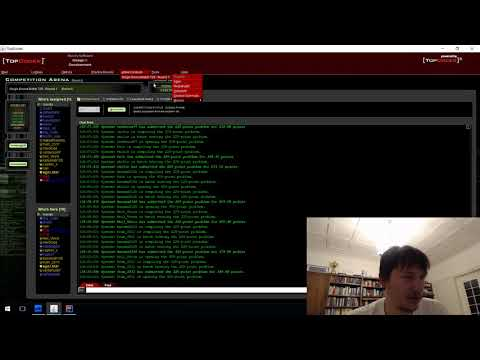 TopCoder SRM 729 screencast with commentary