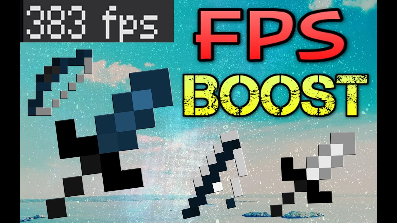 Minecraft Fps Boost 100 Texture Pack 8x8 Youtube