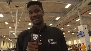 Deandre Ayton channels 'love for the game' at NBA Cares event ahead of 2018 NBA Draft
