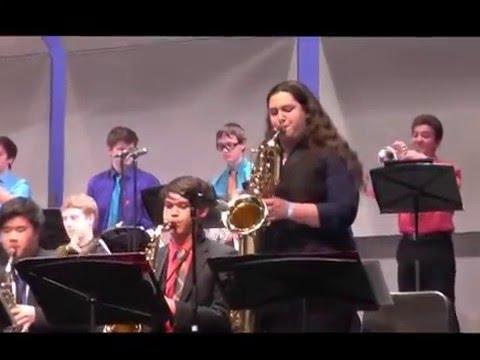 Northgate High Jazz Band at El Cerrito Feb 6 2016