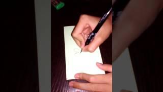 Как нарисовать разные сердечки часть1