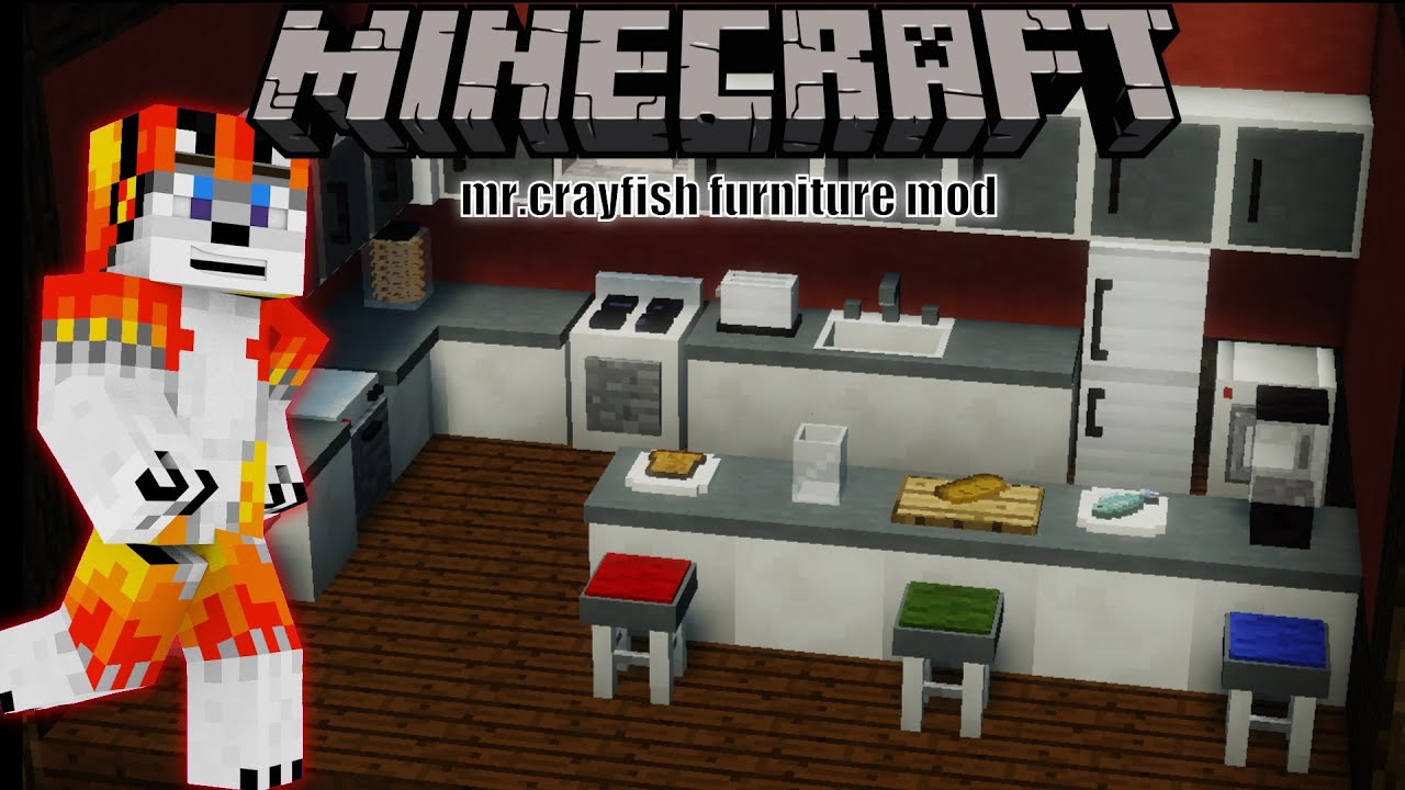 Minecraft Kitchen Mod 1.8 Minecraft 1 8 9 Mod Review Showcase Mr Crayfish