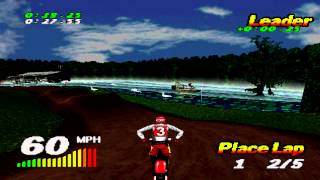 Vmx Racing Gameplay Single Race (Playstation)
