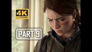 The Last of Us Part 2 Walkthrough Part 9 - Weather Station (4K PS4 PRO Gameplay)