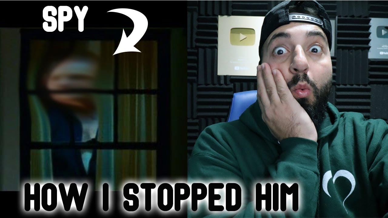 THIS IS WHAT I DID TO STOP MY NEIGHBOUR FROM SPYING ON ME! - download from YouTube for free