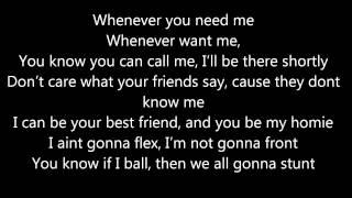 Repeat youtube video Wiz Khalifa - Roll Up Lyrics (letras)